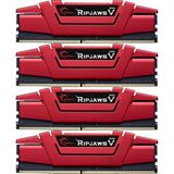 16GB G.Skill RipJaws V rot DDR4-2133 DIMM CL15 Quad Kit